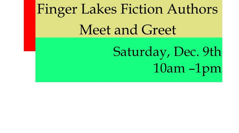 Finger Lakes Fiction Authors Meet and Greet