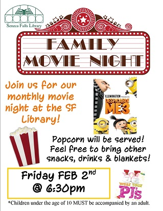 Family Movie Night – Despicable Me 3