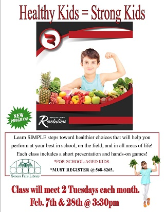 Healthy Kids = Strong Kids (February)