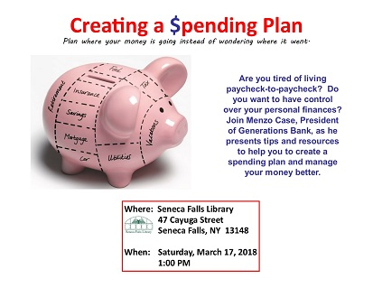 Budgeting Workshop:  Creating a Spending Plan