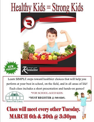 Healthy Kids = Strong Kids