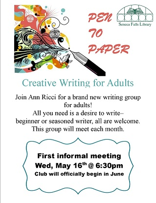 Pen to Paper: Creative Writing for Adults