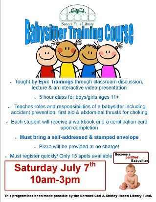 Babysitter Training Course