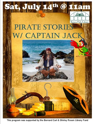 Pirate Stories with Captain Jack