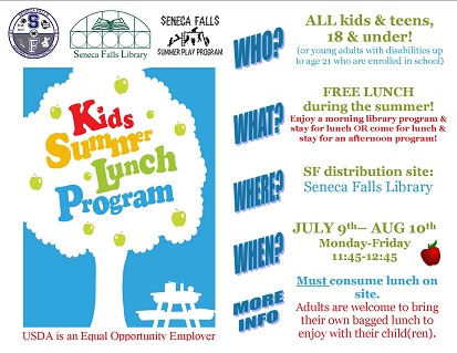 Kids Summer Lunch Program