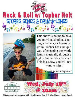 Rock & Roll with Topher Holt