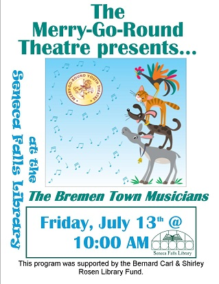 Merry-Go-Round Theatre:  The Bremen Town Musicians