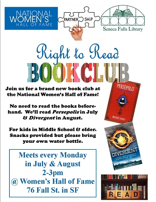 Right to Read Book Club