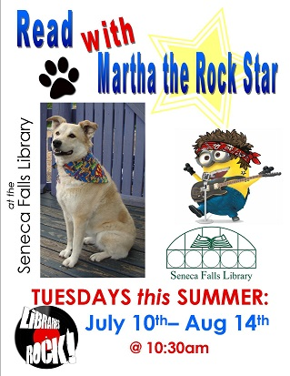 Read with Martha the Rock Star!