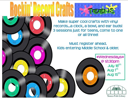 Rockin' Record Crafts (Teens)