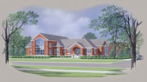 seneca falls library concept drawing
