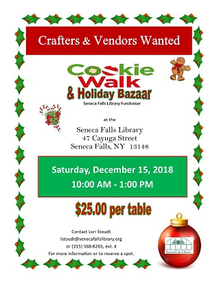 Crafters and Vendors Wanted