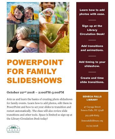 PowerPoint for Family Slide Shows