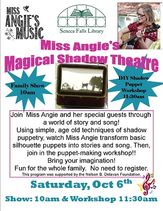 Miss Angie's Magical Shadow Theatre