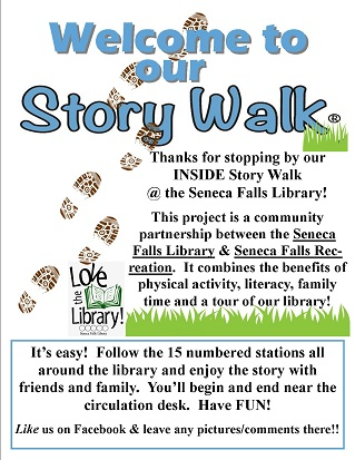 Story Walk at the SF Library!
