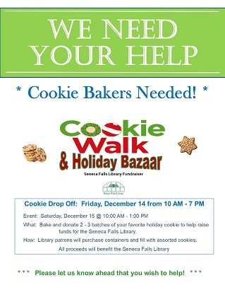 Cookie Bakers Wanted!