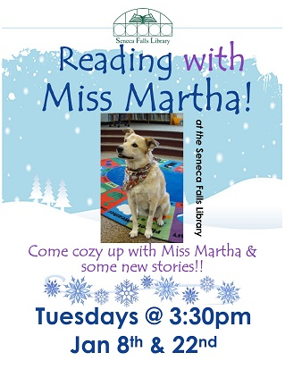 Reading with Miss Martha