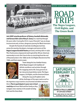 Road Trip!  The Negro Leagues, Civil Rights and The Green Book