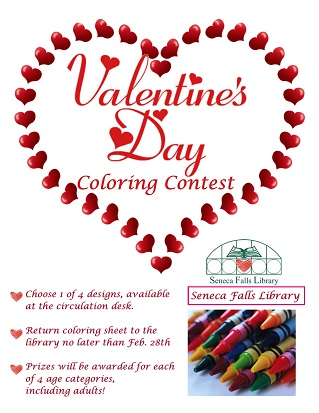 Valentine's Day Coloring Contest