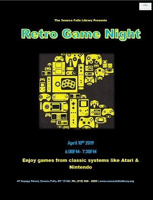 Retro Game Night