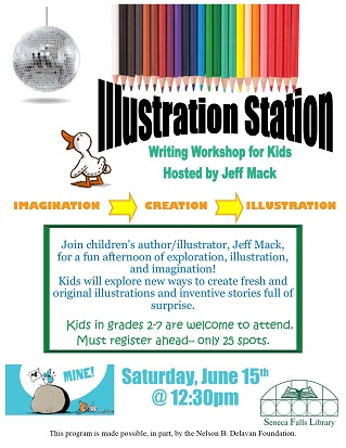 illustration station writing workshop for kids
