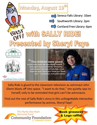 blast off with sally ride
