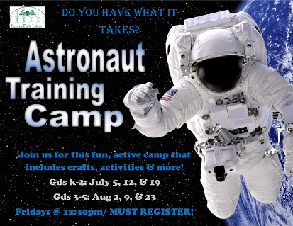 astronaut training camp