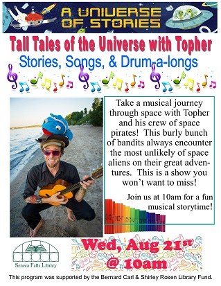 tall tales of the universe with topher