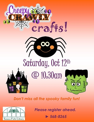 creepy crawly crafts