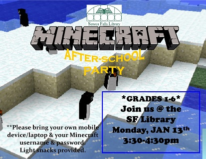 Minecraft After-School Party