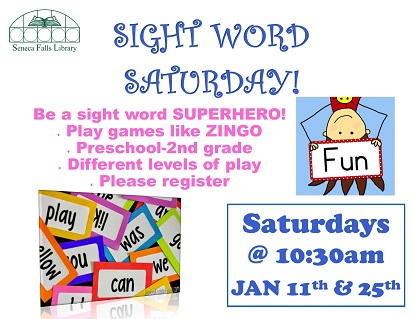 Sight Word Saturday