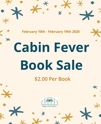 Cabin Fever Book Sale