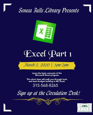 excel part one