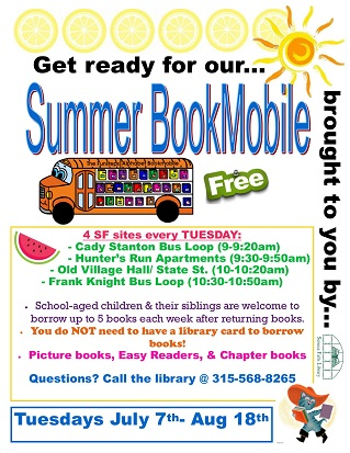 summer book mobile