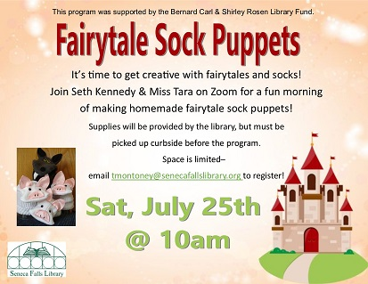 Fairytale Sock Puppets