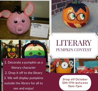 Literary Pumpkin Contest