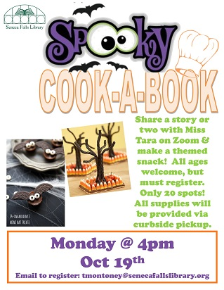 cook spooky recipes out of our October book