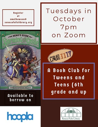 get the book and the club online in October