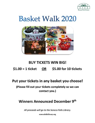 basket walk flyer