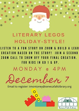 holiday literary legos