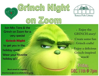 Grinch Night on Zoom