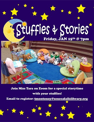 stuffies and stories
