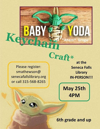 Baby Yoda Keychain Craft
