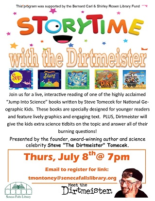 Storytime with the Dirtmeister