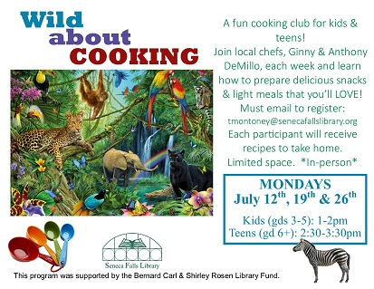 Wild about Cooking