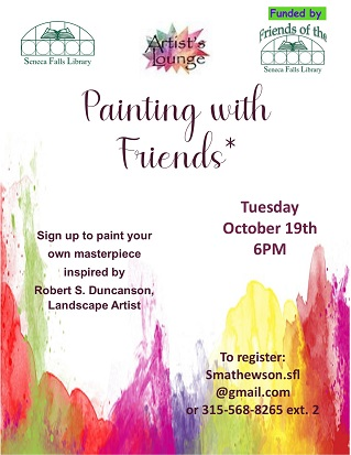 Painting with Friends (Adults)